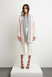 Forever 21 The Fifth Label The Great Divide Coat Pink Grey