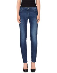 South Beach Denim Denim Trousers Women Blue