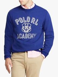 Ralph Lauren Polo Graphic Crew Jumper Yale Blue