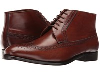 Massimo Matteo 5 Eye Chukka Wing Castagna Lace Up Boots Brown