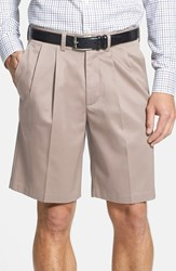 Nordstrom Men's Big And Tall Men's Shop Smartcare Tm Pleated Shorts String