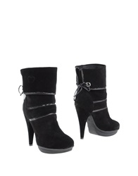 Baci And Abbracci Ankle Boots Black