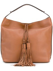 Rebecca Minkoff Isobel Hobo Tote Women Leather One Size Brown