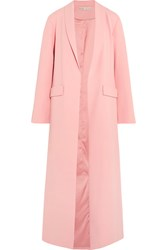 Alice Olivia Angela Crepe Coat Pink