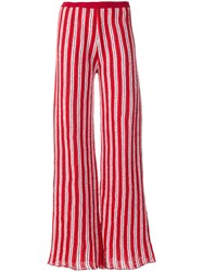 Aviu Striped Flared Trousers