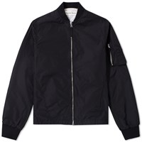 Universal Works Ma 1 Bomber Jacket Black