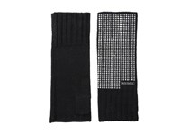 Michael Michael Kors Heat Seal Studded Armwarmer Black Polished Nickel Extreme Cold Weather Gloves
