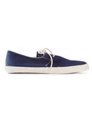 Ymc Lace Up Espadrilles Blue