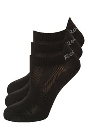 Reebok 3 Pack Sports Socks Black