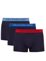 Polo Ralph Lauren Pack Of Three Logo Jacquard Boxer Briefs Multi