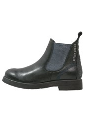 Replay Bitter Ankle Boots Schwarz Black