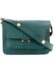 Marni 'Trunk' Bag Women Calf Leather One Size Green