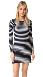 Sol Angeles Stripe Cocoon Dress Heather