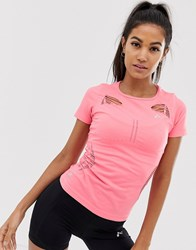 Only Play Seamless Runnning T Pink
