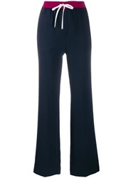 Tommy Hilfiger Contrast Panel Trousers Blue