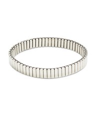 Variations Watch Band Stretch Bracelet Silver