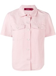 Sies Marjan Short Sleeve Shirt Pink