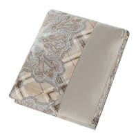 Etro Lima Quilted Bedspread Brown