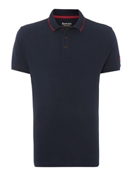 Barbour International Polo Navy