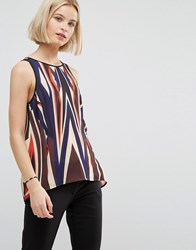 Clover Canyon Dynamic Sunset Drapey Top Dynamic Sunset Multi