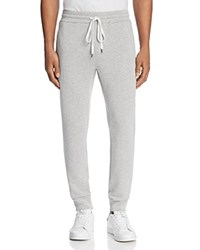 Velvet By Graham And Spencer Crosby Luxe Jogger Sweatpants Heather Gray