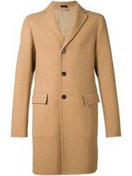 Jil Sander 'Buddha' Overcoat Brown