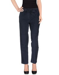 Sessun Trousers Casual Trousers Women Dark Blue