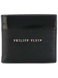 Philipp Plein Anauel Pocket Wallet Men Calf Leather One Size Black