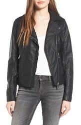 Thread And Supply Women's Big City Faux Leather Moto Jacket