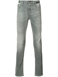 Denham Jeans Straight Leg Grey