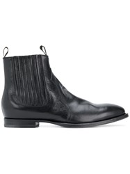 Buttero Classic Fitted Chelsea Boots Black