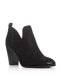 Vince Camuto Federa Cutout Side Booties Black