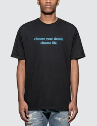 Denim By Vanquish And Fragment Choose Life Slogan Print T Shirt