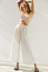 Without Walls Sydney Bungee Wide Leg Pant White