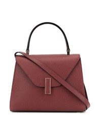 Valextra Mini Iside Tote Red