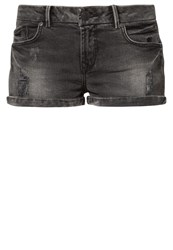 Ltb Judie Denim Shorts Grey