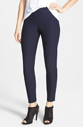 Eileen Fisher Women's Stretch Crepe Ankle Pants Midnight