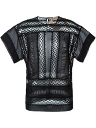N 21 No21 Lace T Shirt Black