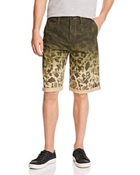 Prps Goods And Co. Ombre Camouflage Shorts Khaki