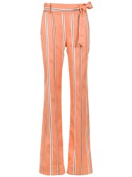 Olympiah Piaggia Wide Trousers Yellow And Orange