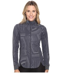 Brooks Drift Shell Asphalt Reflective Cosmo Women's Coat Black