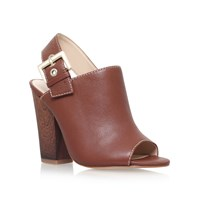 Nine West Orlanda High Heel Slingback Shoes Brown