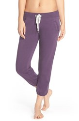 Women's Make Model 'Weekend' Jogger Pants Purple Mystical