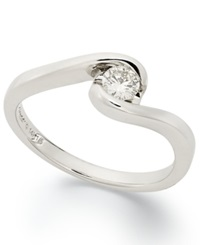 Sirena Diamond Bridal Ring In 14K White Gold 1 5 Ct. T.W.
