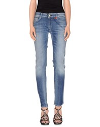 Replay Denim Denim Trousers Women