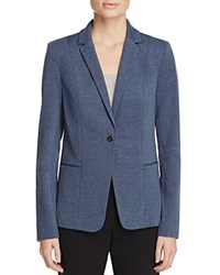 T Tahari Rima Heathered Knit Blazer Tempest Heather