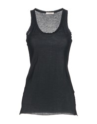 Devotion Tank Tops Black