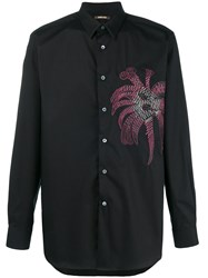 Roberto Cavalli Embroidered Shirt Black