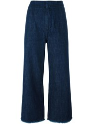 Citizens Of Humanity Relaxed Cropped Jeans Blue