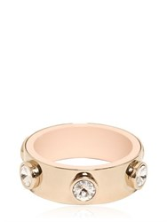 Givenchy Brass Plated Bracelet With Rhinestones
